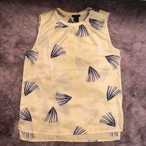 Sleeveless Ann Taylor factory top.